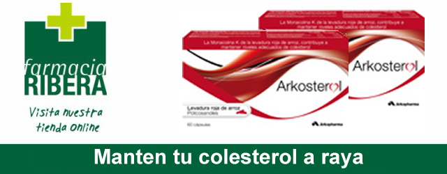 Arkosterol, mantén a raya tu colesterol.