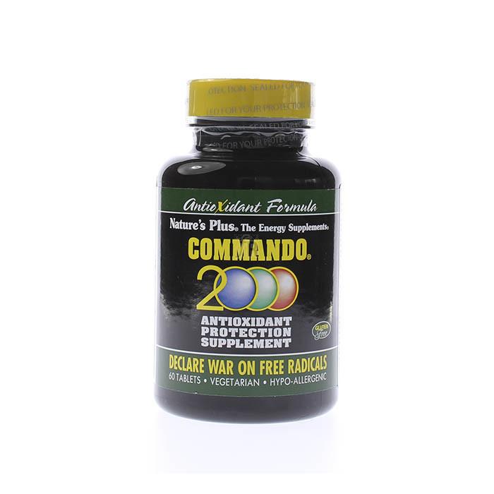 Commando 2000 60 Perlas Nature'S Plus