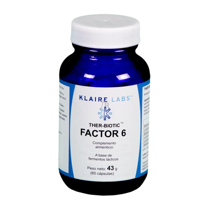 Ther-Biotic Factor 6 60 Cápsulas Klaire