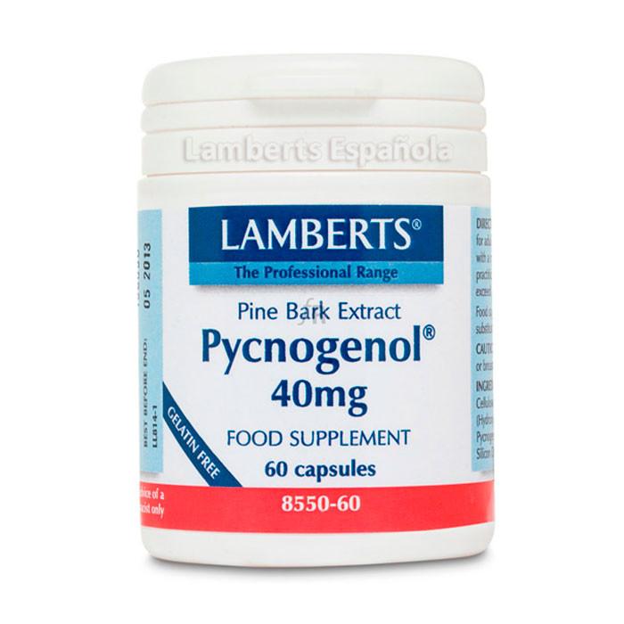 Lamberts Pycnogenol 40 Mg 60 Capsulas