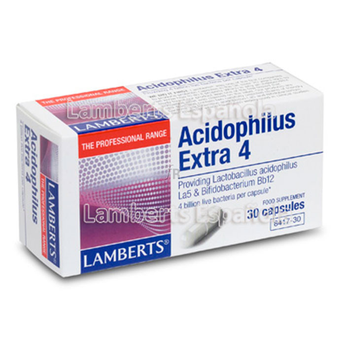 Lamberts Acidophillus Extra 4 30 Capsulas