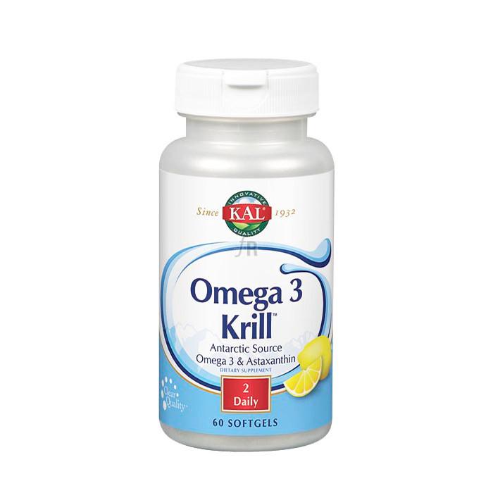 Solaray Omega 3 Krill 60 Perlas Kal
