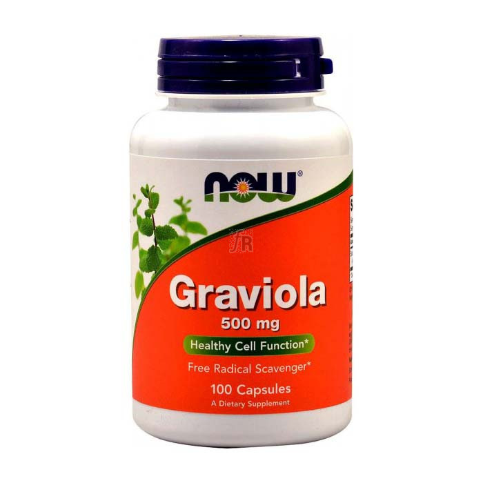 Graviola 500Mg 100 Capsulas Now - Varios