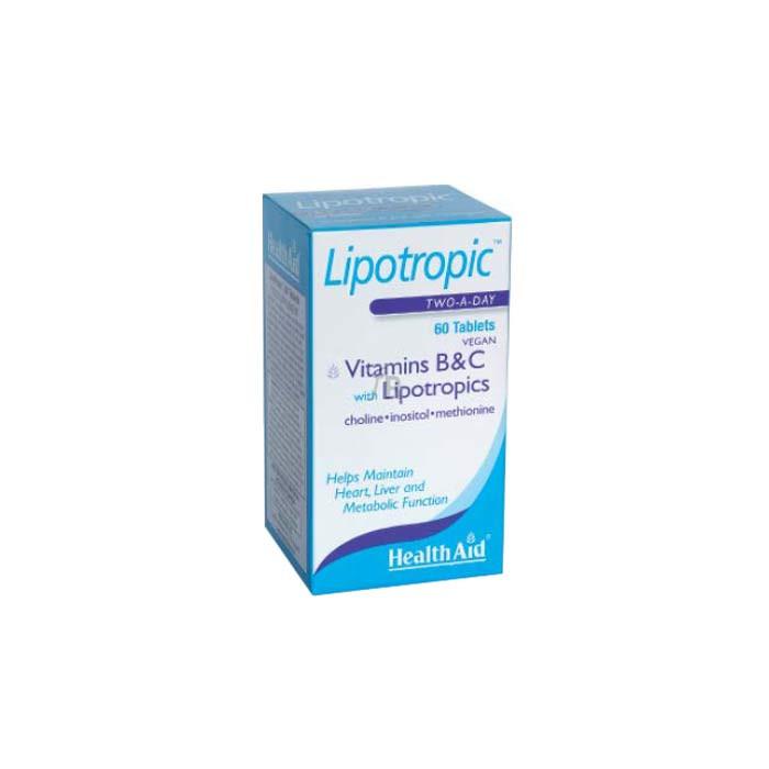 Lipotropic 60 Comprimidos - Health Aid