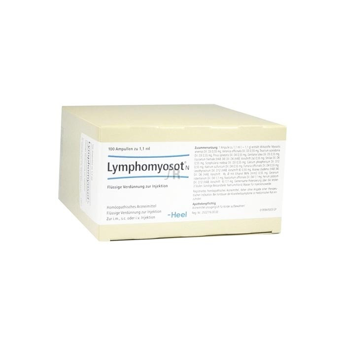 Lymphomyosot N 100 Ampollas