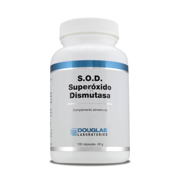 S.O.D. (Superoxido Dismutasa) 2000 UMF 100 Cápsulas - Douglas