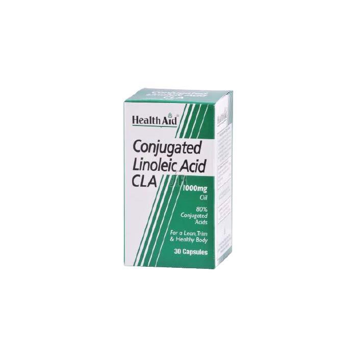 CLA (Ácido linoleico conjugado) 30 Cápsulas - Health Aid