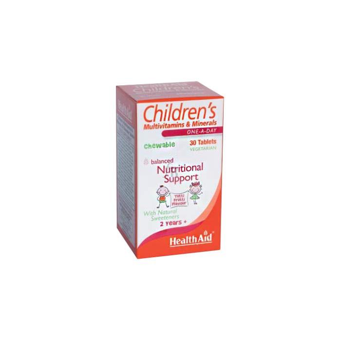 Multinutriente infantil 30 Comprimidos - Health Aid