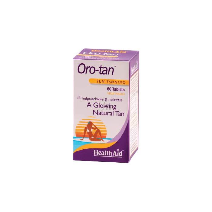 Oro-tan 60 Comprimidos - Health Aid