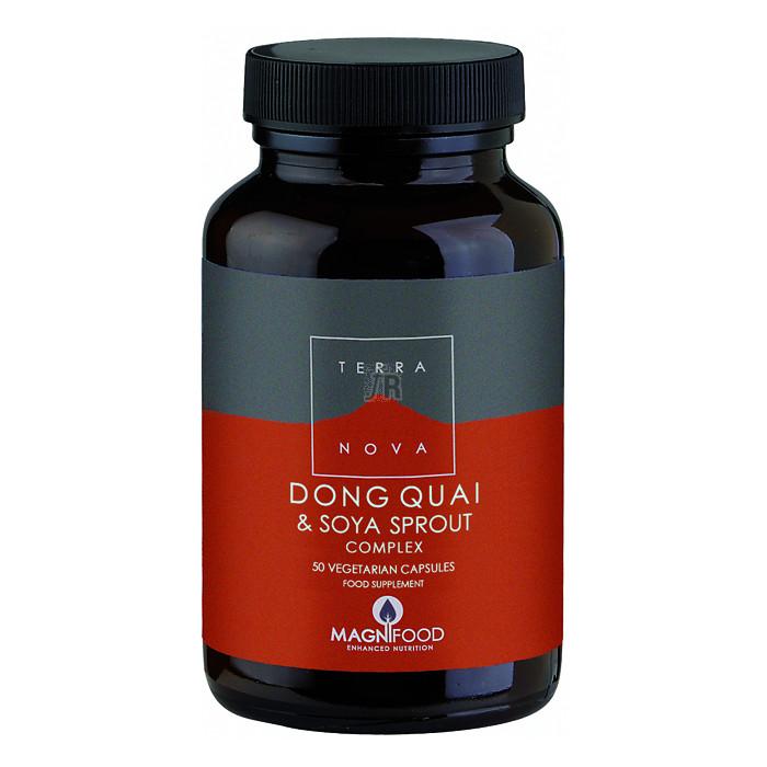 Dong Quai y Brotes de Soja Comprimidoslex 50 Cápsulas - Terranova