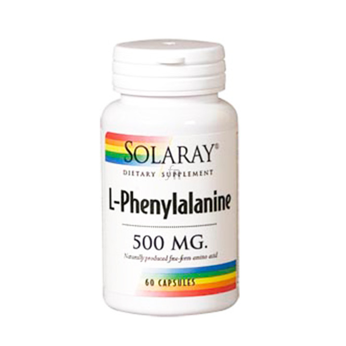 Solaray L-Phenylalanine 500 mg 60 cápsulas