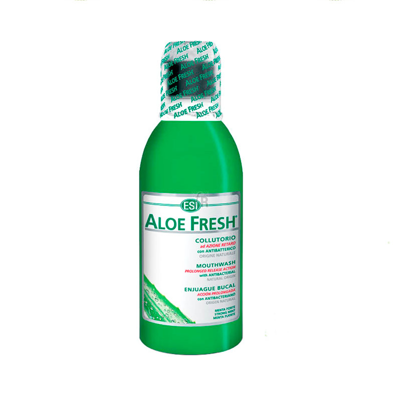 Esi Aloe Fresh Colutorio Con Alcohol 500 Ml - Farmacia Ribera