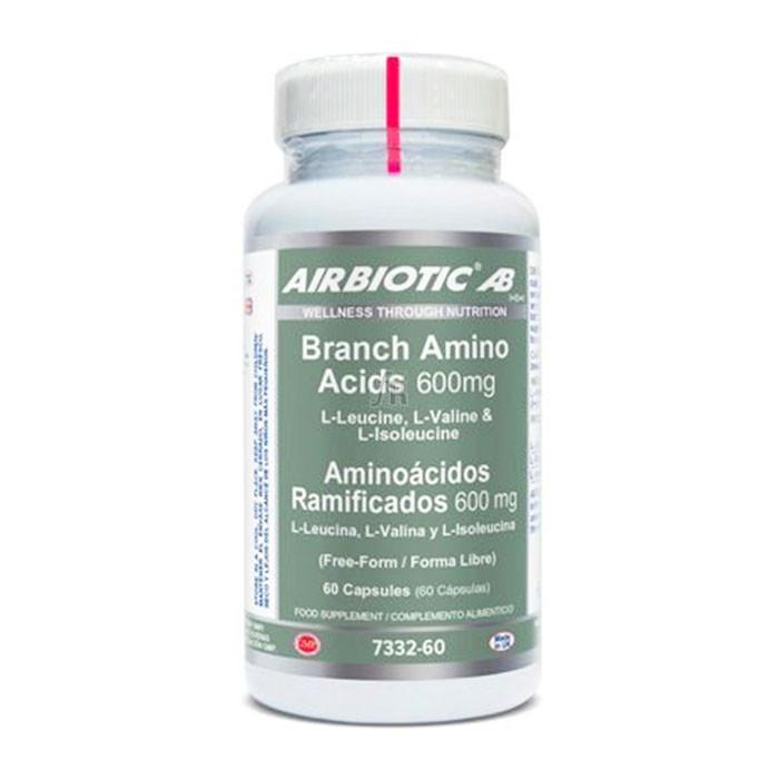 Aminoácidos Ramificados 60 Cápsulas Airbiotics