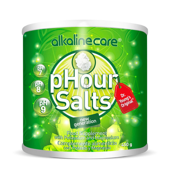 Phour Salts Polvo 450 Gr Alkalinecare