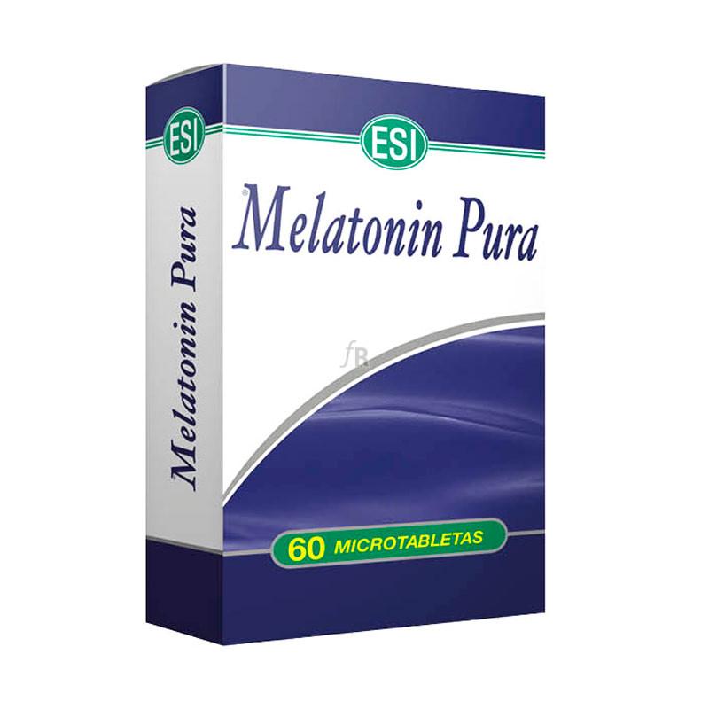 Esi Melatonina Pura 1 Mg 60 Tabletas - Farmacia Ribera