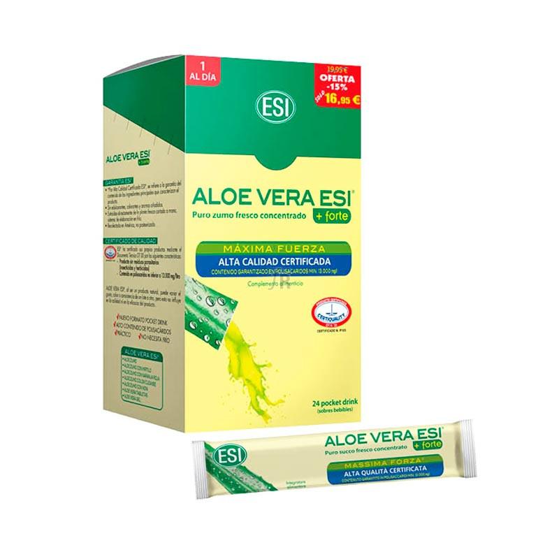 Esi Aloe Vera Zumo Fresco + Forte - Farmacia Ribera