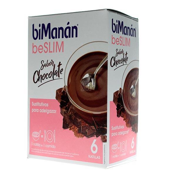 Bimanán Natillas Chocolate 6 Unidades
