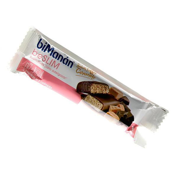 Bimanán beSLIM Sabor Toffe-Caramelo 1 Barrita