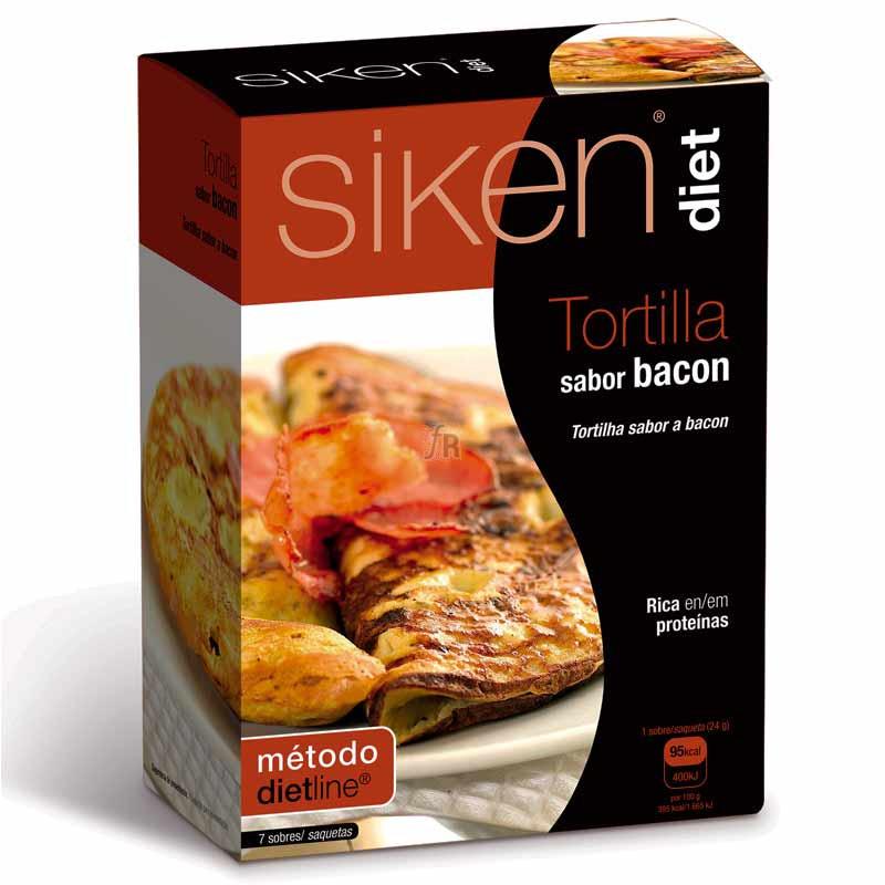 Siken Diet Tortilla de Bacon