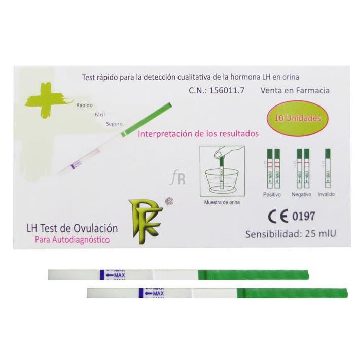 Rf Ovulacion Test De Ovulacion 1 U - Laboratorios Rueda Farma