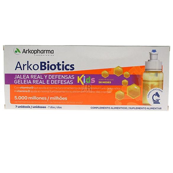 Arkoprobiotics Energía y Defensas Niños 7 Unidosis