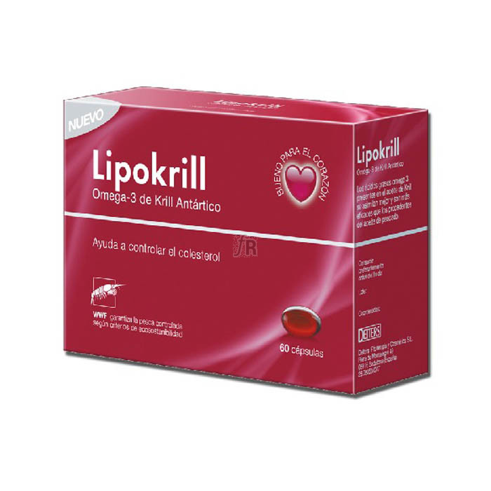 Lipokrill 60 Capsulas - Deiters