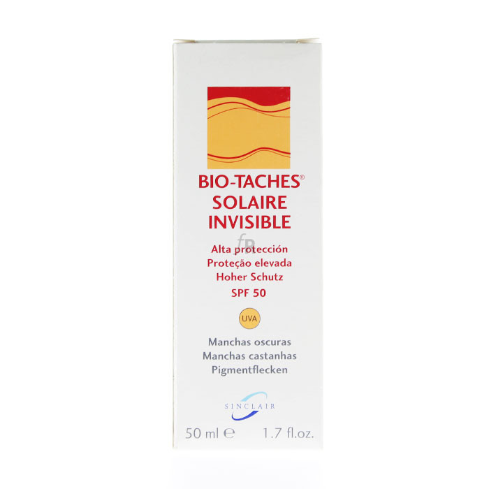 Bio-Taches Solaire Invisible Spf 50 Alta Protección - Bio Taches