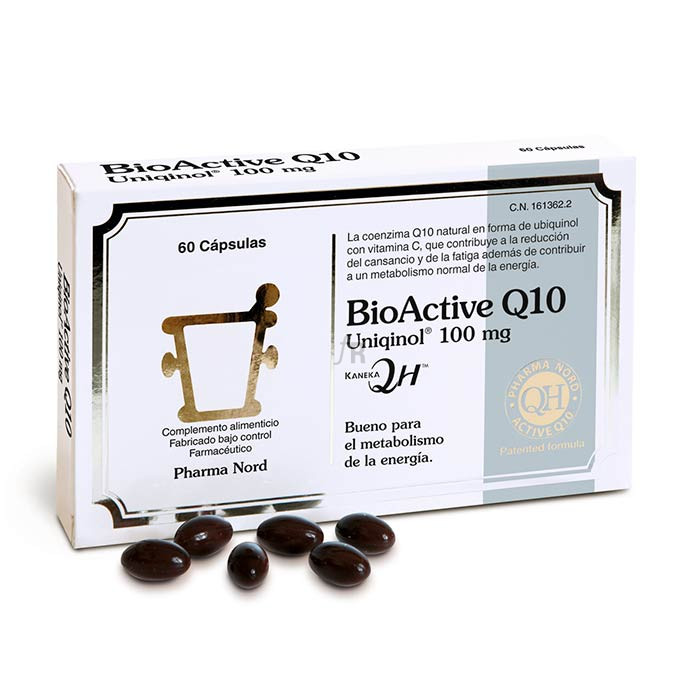 ActiveComplex Bio Active Q10 Uniquinol 60 Capsulas Pharma Nord
