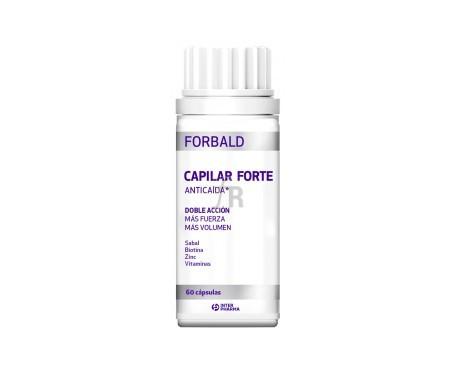 Forbald Cápsulas Ilar Forte 60 Cápsulas - Farmacia Ribera