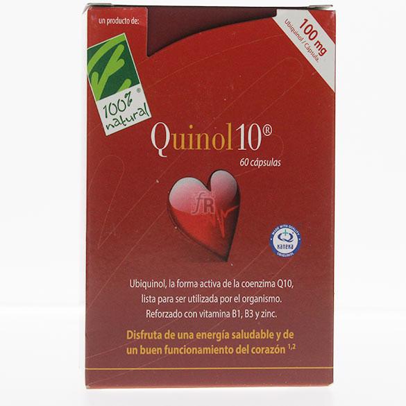 Quinol 10 100 Mg 60 Capsulas Cienpor Cien