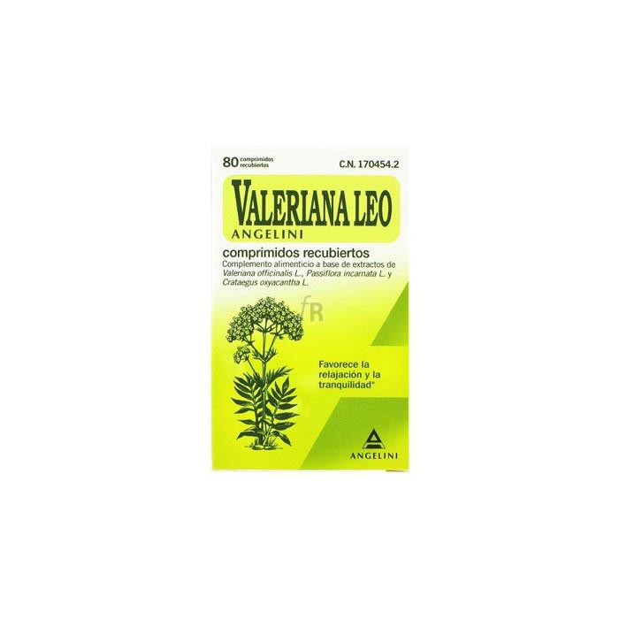 Valeriana Leo Con Crataegus Y Passiflora 80 Grag - Varios