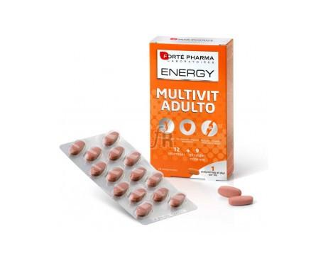 Energy Multivit Adulto 84 Comprimidos - Farmacia Ribera