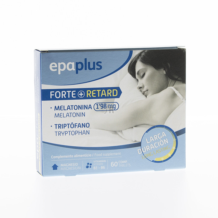 Epaplus Melatonina + Trip Retard 60 Comp