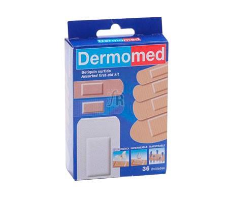 Dermomed Aposito Adhesivo Caja Surtida Pvc Tela Y Fix 36 U - Farmacia Ribera