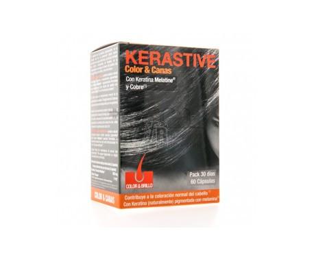 Kerastive Color Y Canas 60 Cápsulas - Farmacia Ribera