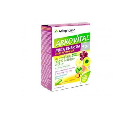 Arkovital Pura Energia Multivitaminas 50+ 60 Cápsulas - Farmacia Ribera
