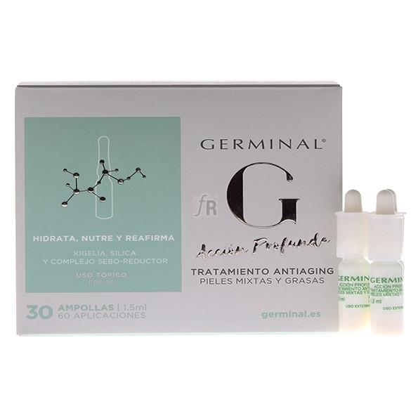 Germinal Acción Profunda Tratamiento Atiaging 1ml 30Ampollas