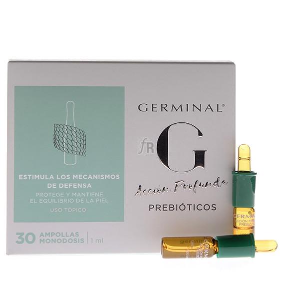 Germinal Acción Profunda Prebióticos 1ml 30 Ampollas