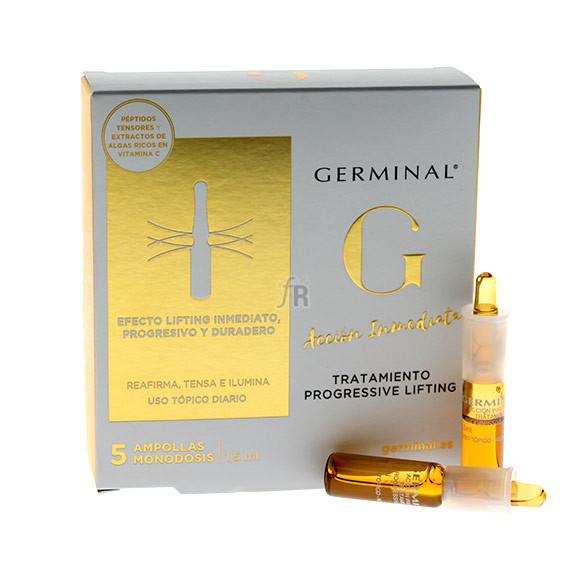 Germinal Acción Inmediata Tratamiento Progressive Lifting 5 Ampollas