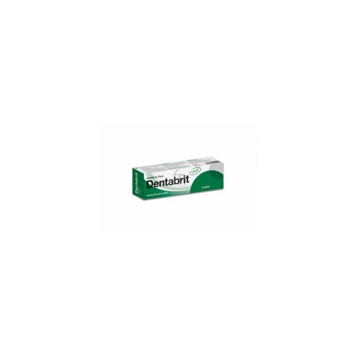 Dentabrit Fluor Pasta 125 Ml - Cederroth