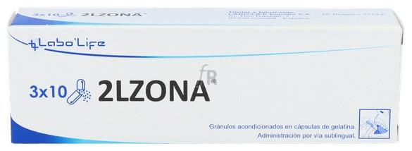 2LZONA 30 Cápsulas Labolife