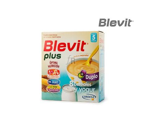Blevit Plus Duplo 8 Cereales Y Yogur 600 G - Farmacia Ribera