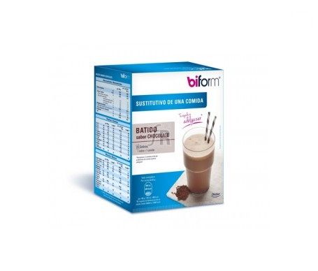 Biform Batido Chocolate 5 Sobresx50G - Farmacia Ribera