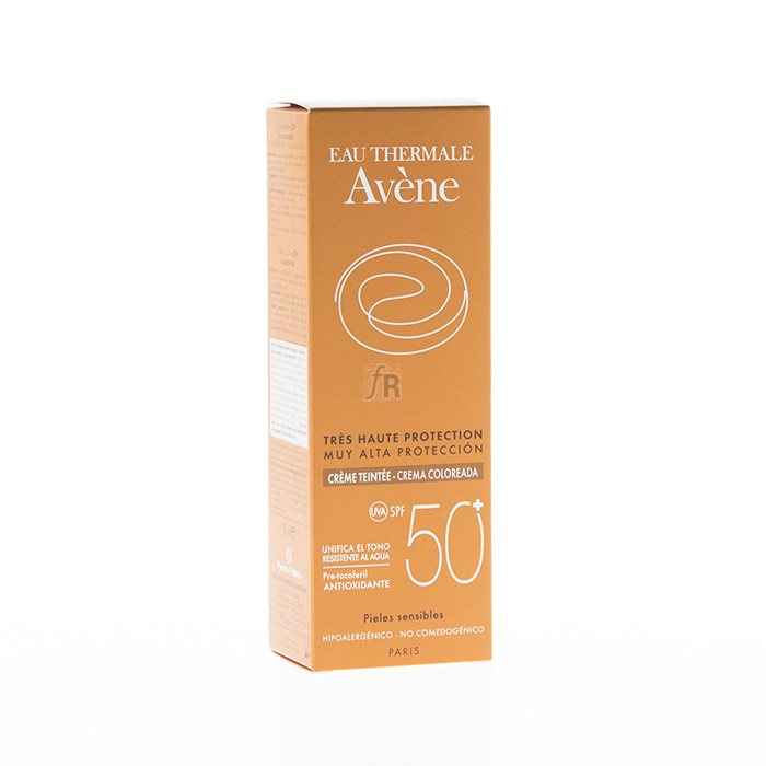 Avene Crema Proteccion 50+ Color 50 Ml.