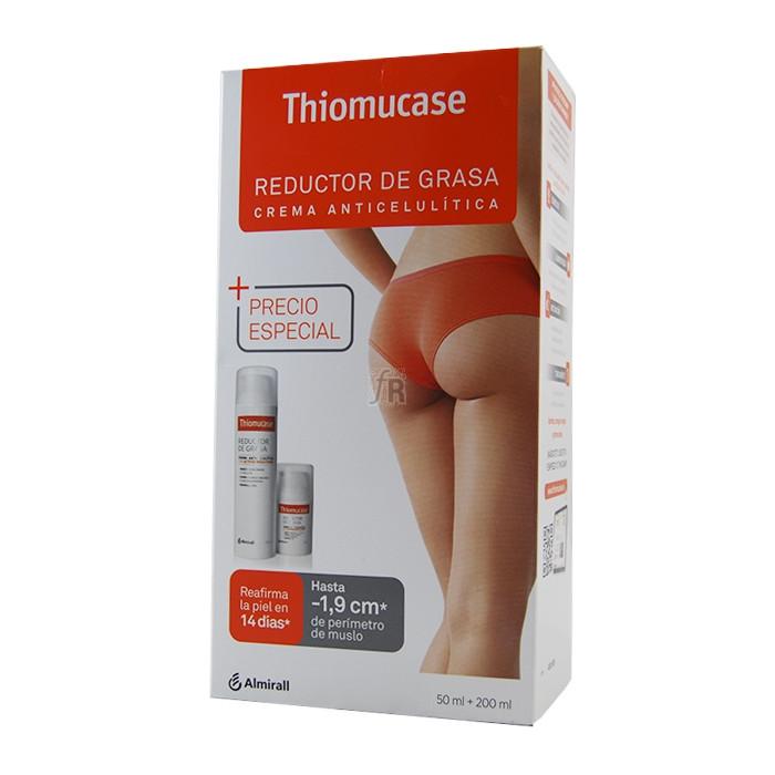 Pack Thiomucase Reductor 200 Ml. + Envase Viaje 50 Ml