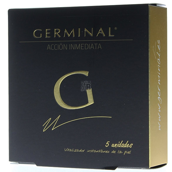 Germinal Accion Inmediata 5 Ampollas 1.5