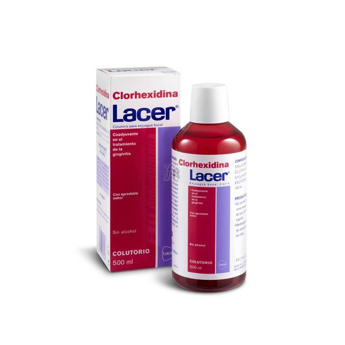 Clorhexidina Colutorio 500 Ml. Lacer