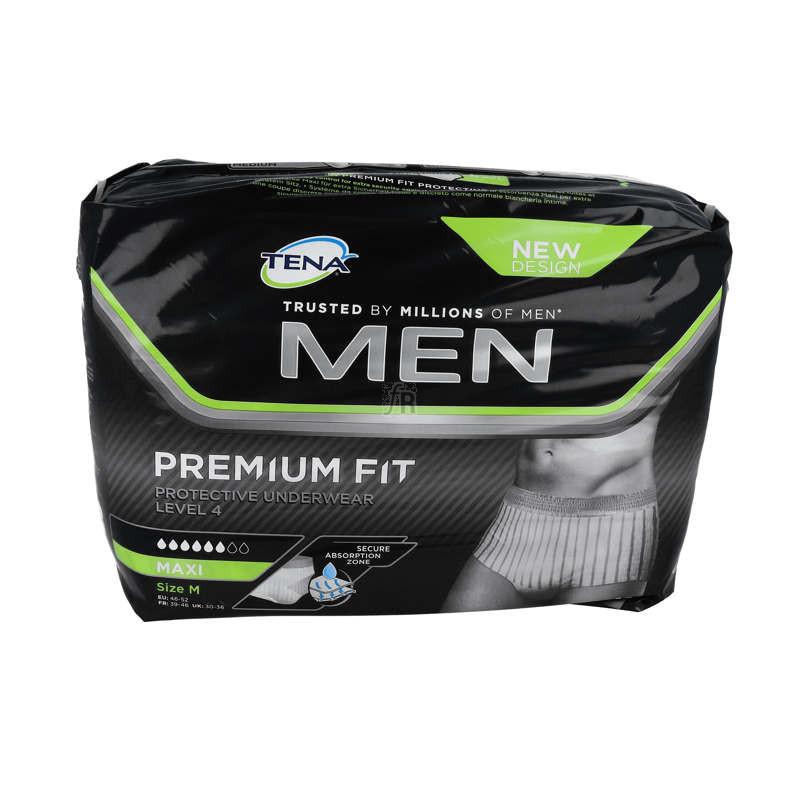 Tena Men Underwear 4 12Ud T M