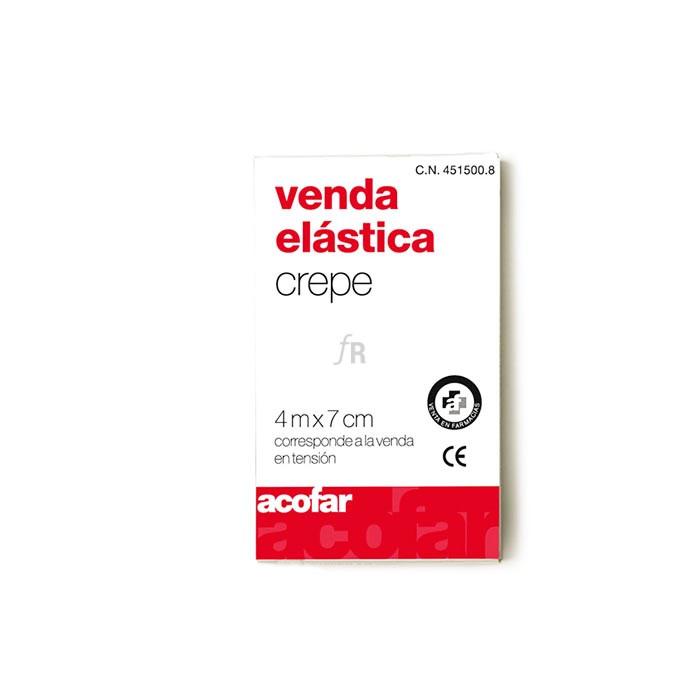 Venda Elastica Acofarma Crepe 4X7