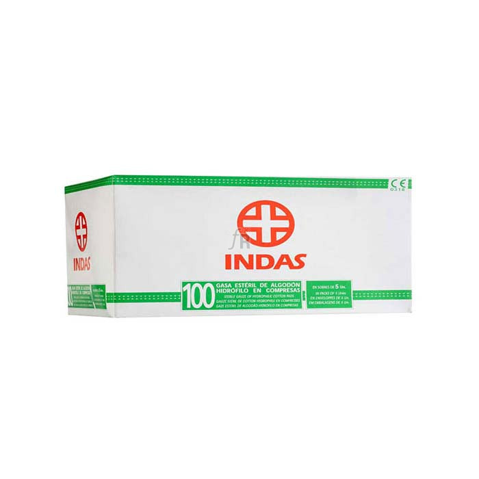 Compresa Esteril Indas 100X20X20 - Varios